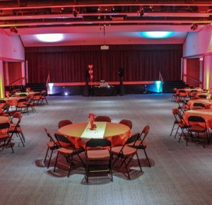 We can bring color to any event with up lighting packages.