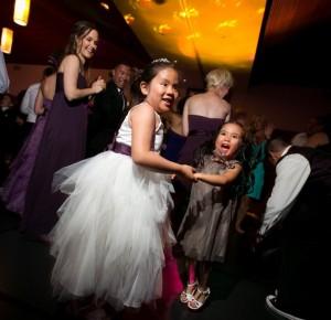 We even get the kids dancing!